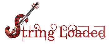 String Loaded Celtic Fiddle Music Logo