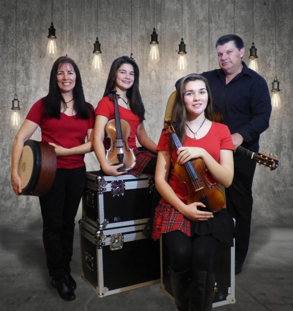 String Loaded Celtic Fiddle Band